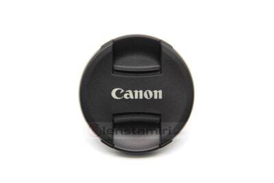 lens cap front- Canon lens orijinal ön kapağı