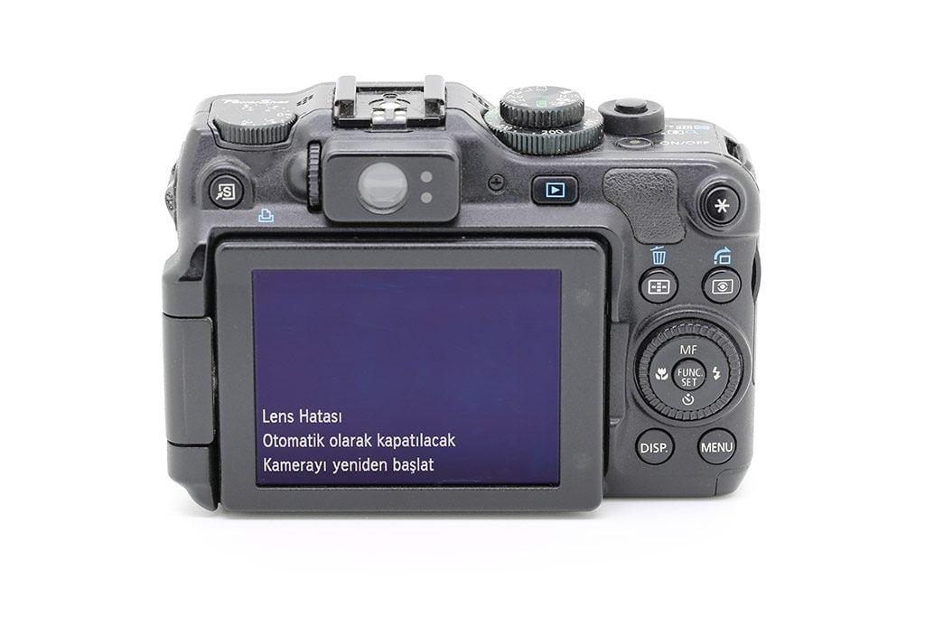 canon power shot g10 g11 g12 lens arızası