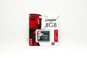 Kingston 8GB CF Compact Flash Hafıza Kartı