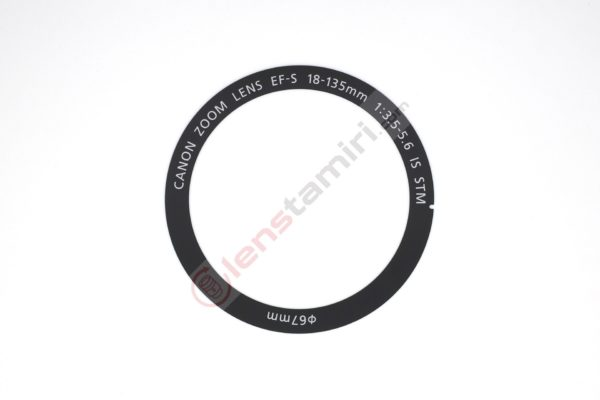 EFS 18-135mm IS STM Ring Name