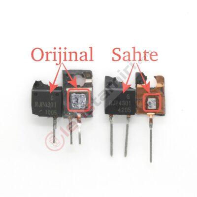 RJP4301APP Original VS Fake