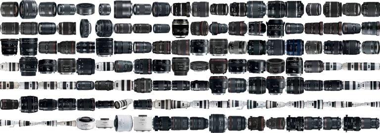 Canon Lens Filtre Çapları Ve Aksesuar Listesi