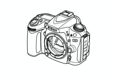 Nikon D90 Spare Parts